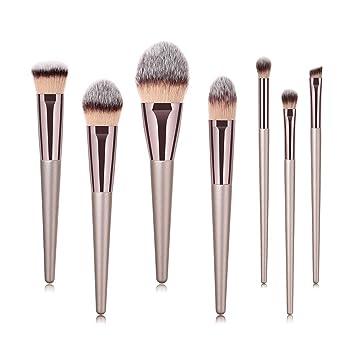 25fa6081da7d Amazon.com: Premium Makeup Brush Set Huphoon Synthetic Kabuki Makeup ...