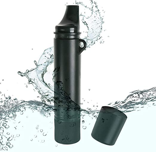 Cacoffay Reutilizable Personal Filtro de Agua Antibacteriano Al ...