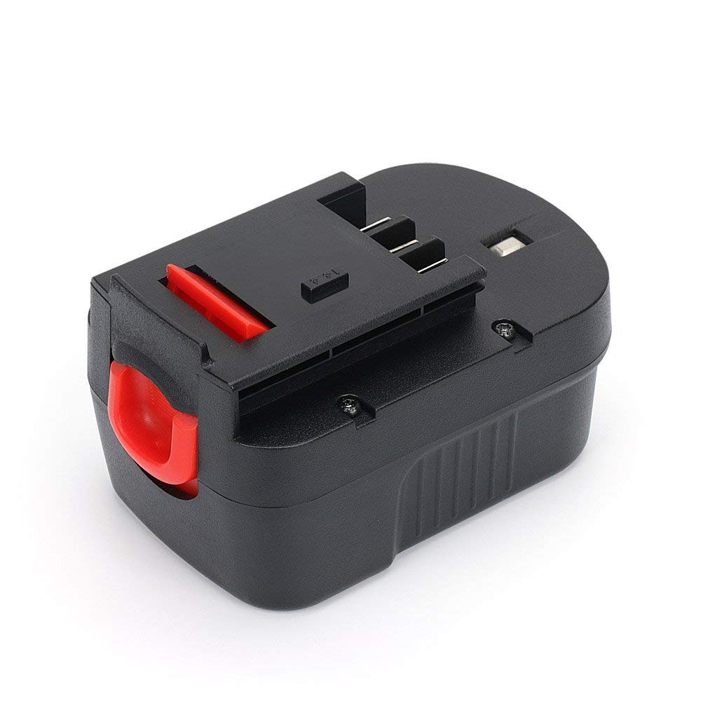 Replace HPB12 Battery Black and Decker 12V for BDID1202 CDC120ASB HPD12K-2 FS120BX FSB12 FS120B A1712 A12 BD12PSK SS12 XD1200K Drill, Reexbon 12 Volt 2.0Ah / 2000mAh Relacement Battery Power Pack
