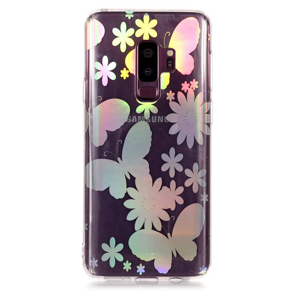 MHHQ Kristall Funkeln Glitzer Laser Handyh/ülle Ultra D/ünn Schutzh/ülle Silikon Transparent mit Muster Weich TPU Case Backcover f/ür Samsung Samsung Galaxy S7-6 Samsung Galaxy S7 H/ülle
