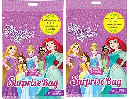 938d11b3793a Image Unavailable. Image not available for. Color  Princess Surprise Bag  Surprise Gift Inside (2 Bags ) Easter Kinder Fun Joy Kids