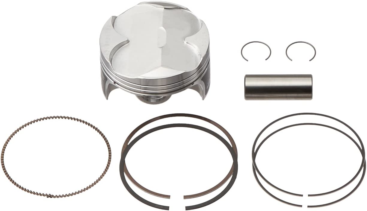Wiseco PK1237 77.00 mm 13.5:1 Compression Motorcycle Piston Kit with Top-End Gasket Kit