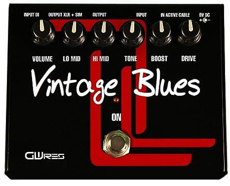 GWIres GWVB2 - Pedal multiefecto para guitarra, color negro ...