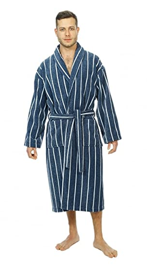 da11812dfef Bown of London Men s Luxury Velour Dressing Gown