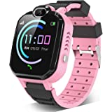 Kids Smartwatch for Boys Girls – Smart Watch for Kids with Phone Calls 7 Games Mp3 Music Player Camera SOS Phone Watch…