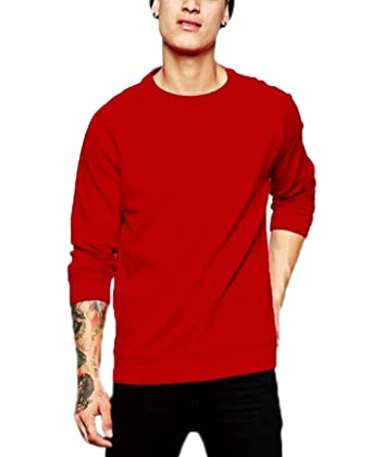 Leotude Cotton Casual Sweatshirt for Men