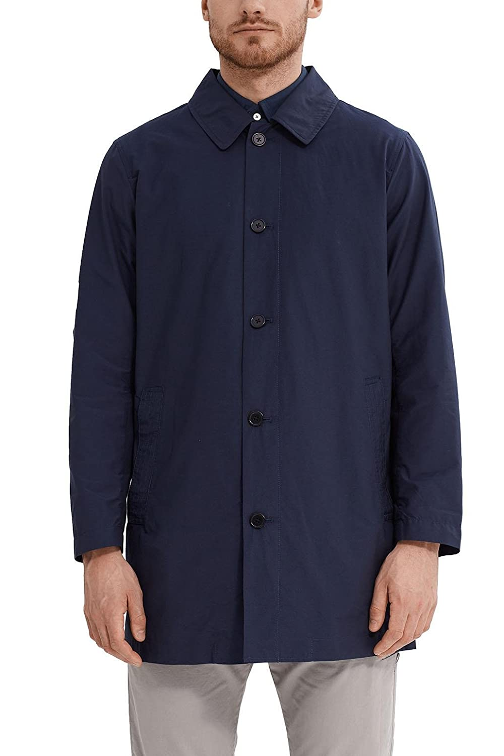 TALLA Large (Talla del fabricante: 50). ESPRIT Collection Abrigo para Hombre