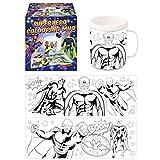 Superhero Colouring Mug - Colour Your Own Arts & Crafts