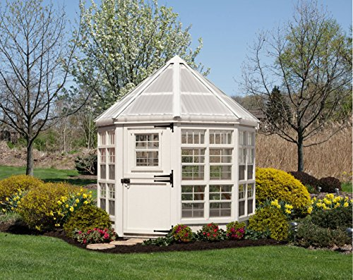 Little Greenhouse (Little Cottage Company Octagon Greenhouse Panelized Playhouse Kit, 8' x)