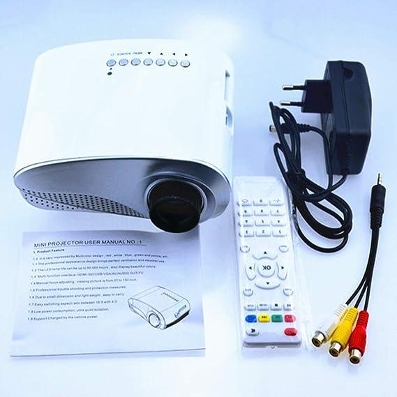 video Mini Mini Proyector Casero, Proyector De Bolsillo Led Mini ...