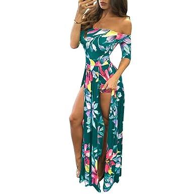 2496d770cf15 DAYLIN Women Jumpsuit Romper Short Trousers Bodycon Playsuit Long Dress (S