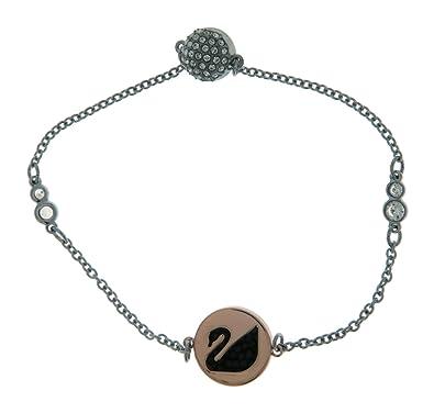 Amazon com: Swarovski Remix Collection Swan Bracelet, Black