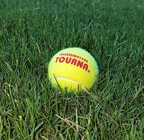 Pressureless Tennis Ball (2-Pack/ 120 Total) by Tourna (Image #3)