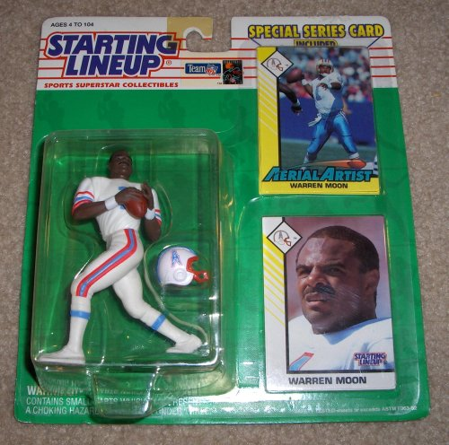 1993 Warren Moon NFL Starting Lineup Figure