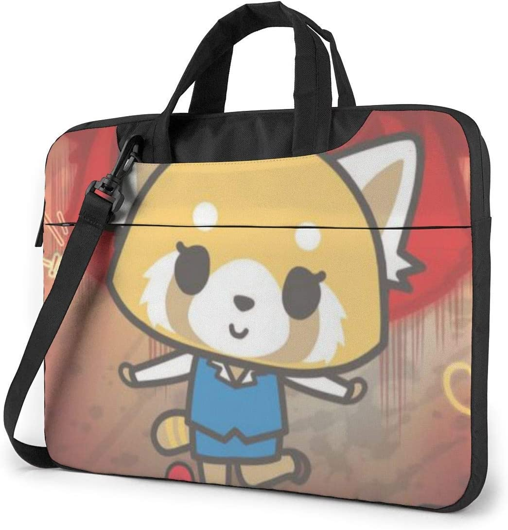 Aggretsuko Laptop Sleeve Bag Case 13 inch MacBook Air Pro Notebook Sleeve Case Portable Briefcase Tote Cases