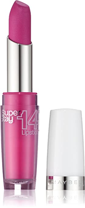 7 opinioni per Maybelline New York Superstay 14h Rossetto, 160 Infinitely Fucsia