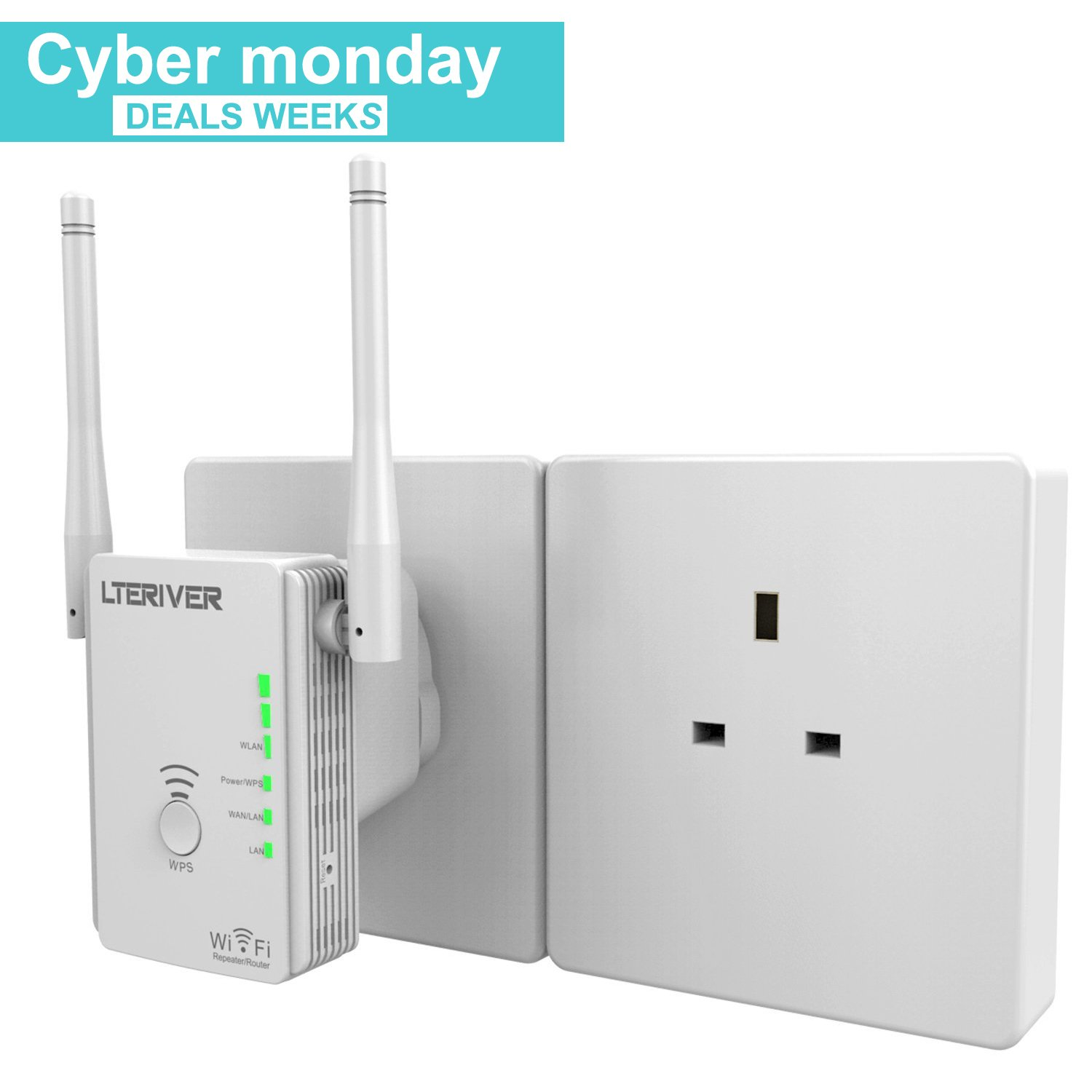 Wireless 300Mbps WIFI Router
