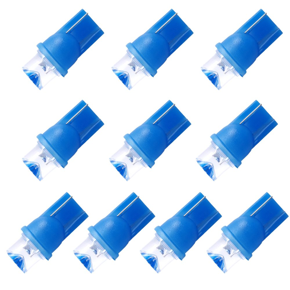 Sonline 10pcs BOMBILLAS T10 W5W 168 501 LED LUCES