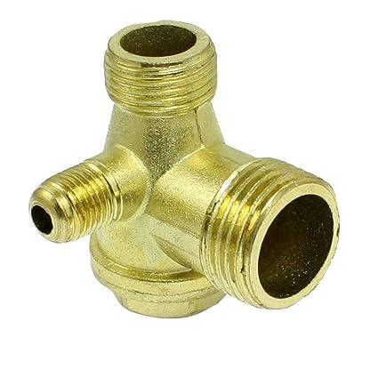 Piezas de repuesto con rosca macho de latón para compresor de aire, válvula de retención