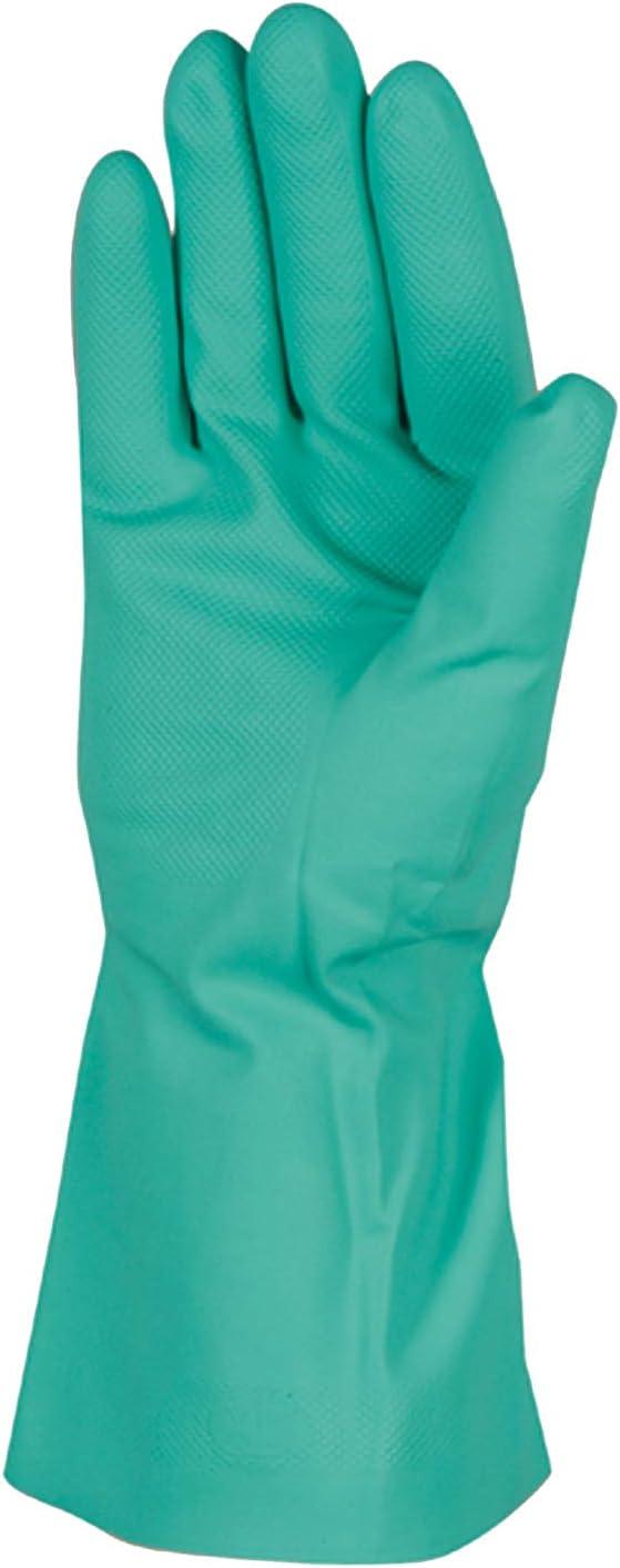 Chemical Resistant Nitrile Gloves, Solvent and Pesticide Resistant, Reusable, Large (Wells Lamont 178L) - Work Gloves -