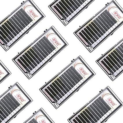BALOO - False Eyelashes - All Sizes Individual Eyelashes B C CC D Natural False Eyelashes Mink Classic Eyelash Lash Extension Cilia 0.03-0.25mm (14mm)