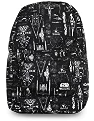 Loungefly x Star Wars The Force Awakens Ship Blueprint School Backpack