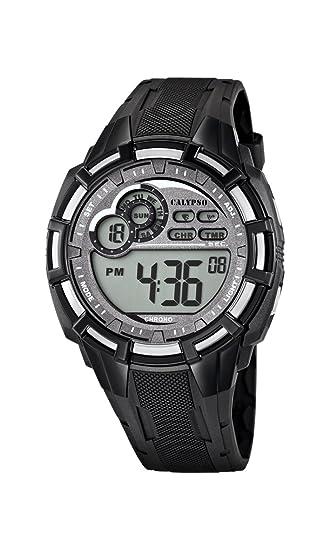 Calypso watches K5625/1 - Reloj de pulsera hombre, plástico, color negro