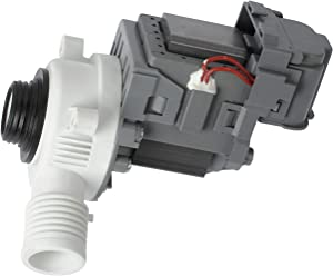 W10276397 Washer Drain Pump Fits for Whirlpool, May-tag, Kenmore MVWC300BW1 Washers, Replace Part Number AP6018417, LP397, WPW10276397VP