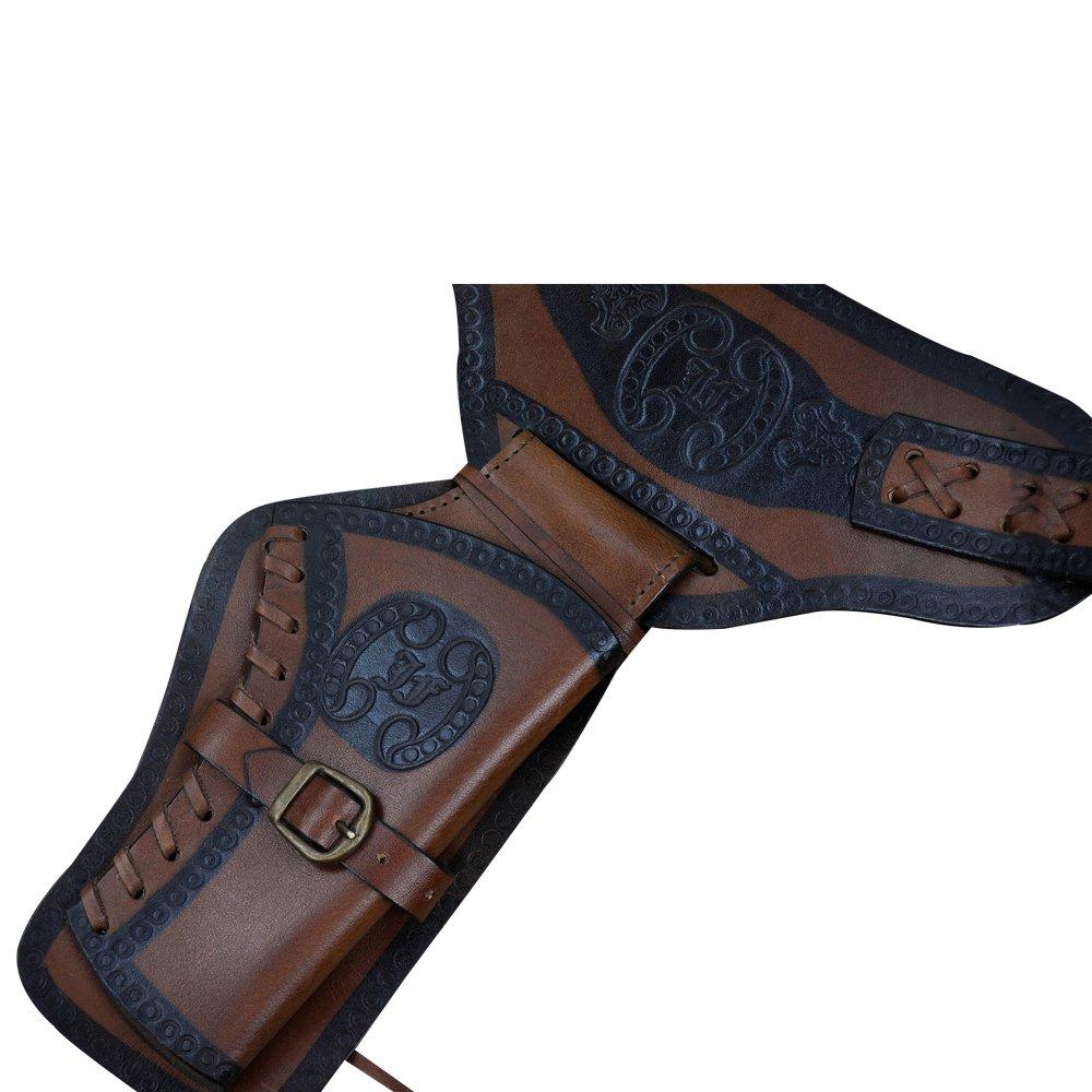 Deepeeka Western Dual Holster Gun Belt
