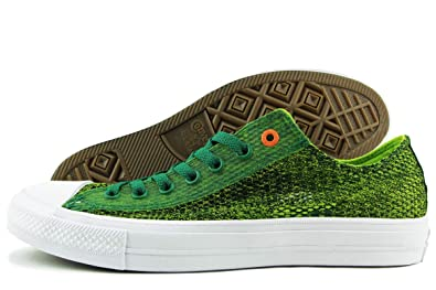 c395f8acec1 Image Unavailable. Image not available for. Color  Converse Chuck Taylor II  Ox Lo Sneaker Mesh Green Men s 12