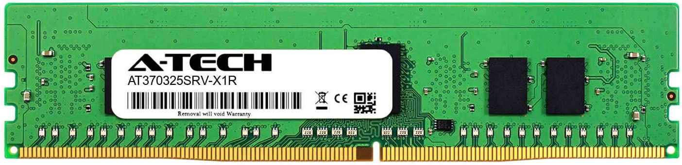 A-Tech 8GB Module for Intel HNS2600TPR AT370325SRV-X1R13 DDR4 PC4-21300 2666Mhz ECC Registered RDIMM 1rx8 Server Memory Ram