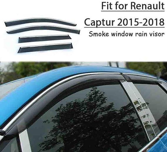 BANIKOP Coche, para Renault Captur 2015 2016 2017 2018, Parabrisas del Coche Parasol Parasol automóvil Humo Ventana Parasol autopartes: Amazon.es: Deportes y aire libre