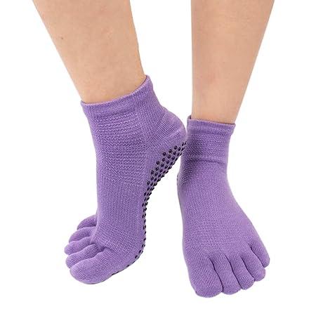 Calcetines de yoga for mujer Calcetines elásticos ...