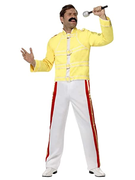 Amazon.com: Smiffys Queen Freddie Mercury Adult Costume ...