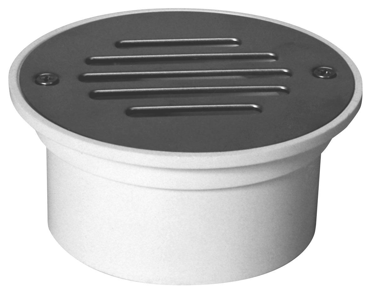 Zurn FD2202-PVC General Purpose Floor Drain 3 x 4 Solvent Weld Connection PVC Body