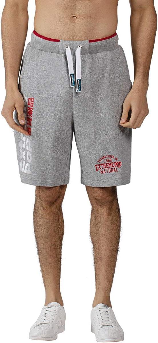 Extreme Pop Homme Short de Sport Gym Entra/înement Rugby Pantalon Grande Vente la Semaine derni/ère