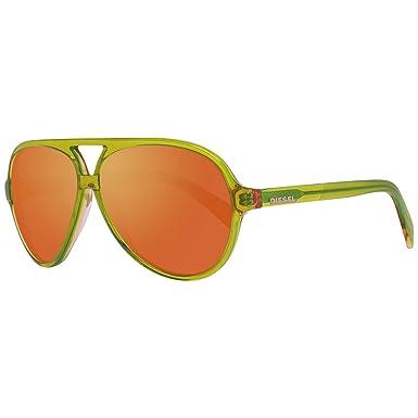 Diesel Gafas de Sol DL0075-95U (53 mm) Verde: Amazon.es ...