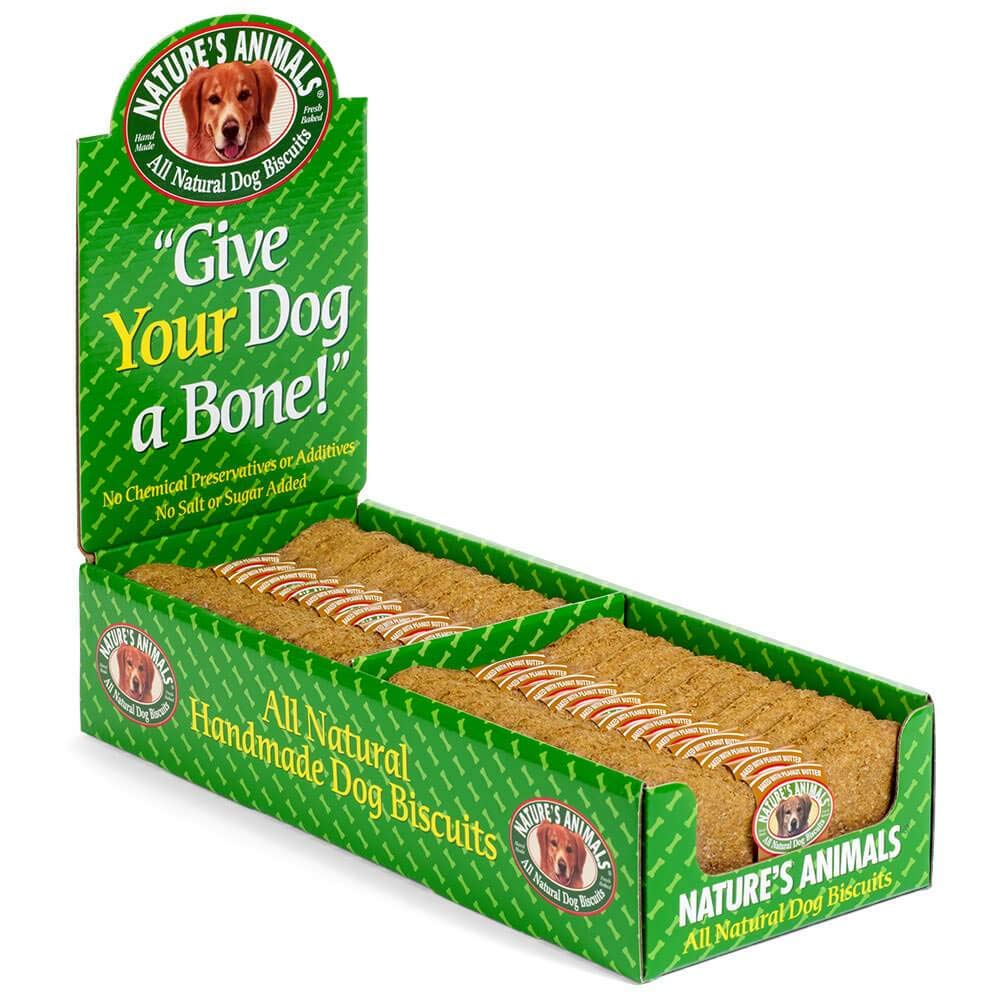 Nature s Animals Original Bakery Biscuits, All Natural Dog Treats, 24 count