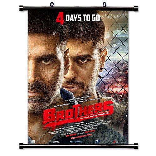 Akshay Kumar Bollywood Actor Wall Scroll Poster