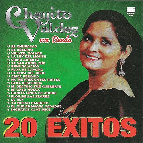 ... 20 éxitos de Chayito Valdéz co.