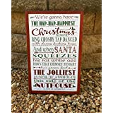 Christmas Vacation Sign National Lampoon Griswold Christmas Movie Quote Home Theater Sign Wood Sign