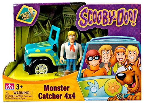 Scooby Doo Toy Box (Scooby Doo! Monster Catcher 4x4 Vehicle with Fred Figure)
