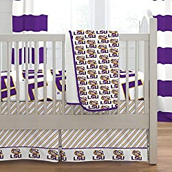 Carousel Designs Louisiana State University 3-Piece Crib Bedding Set