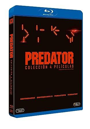 Predator Colección 4 Películas [Blu-ray]: Amazon.es: Arnold Schwarzenegger, Carl Weathers, Boyd Holbrook, Trevante Rhodes, ¿Acob Tremblay, Olicia Munn, Varios Directores, Arnold Schwarzenegger, Carl Weathers: Cine y Series TV