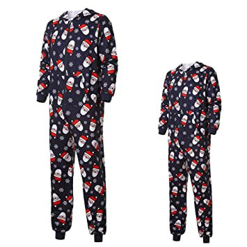 492346193586 Image Unavailable. Image not available for. Color  Gufenban Christmas  Pajamas for Family Santa Claus Sleepwear Cotton Kids PJs ...