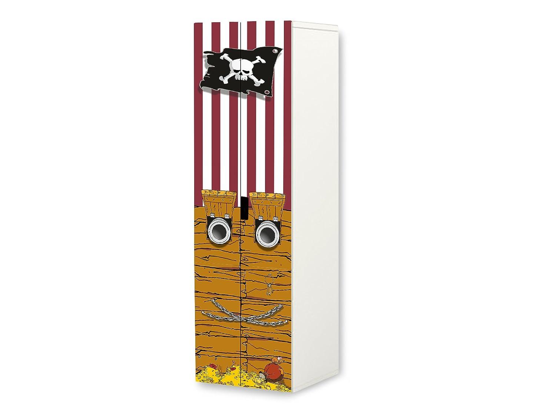 Stikkipix Piraten Aufkleber Set Sc38 Passend Fur Den Kinderzimmer Schrank Stuva Von Ikea