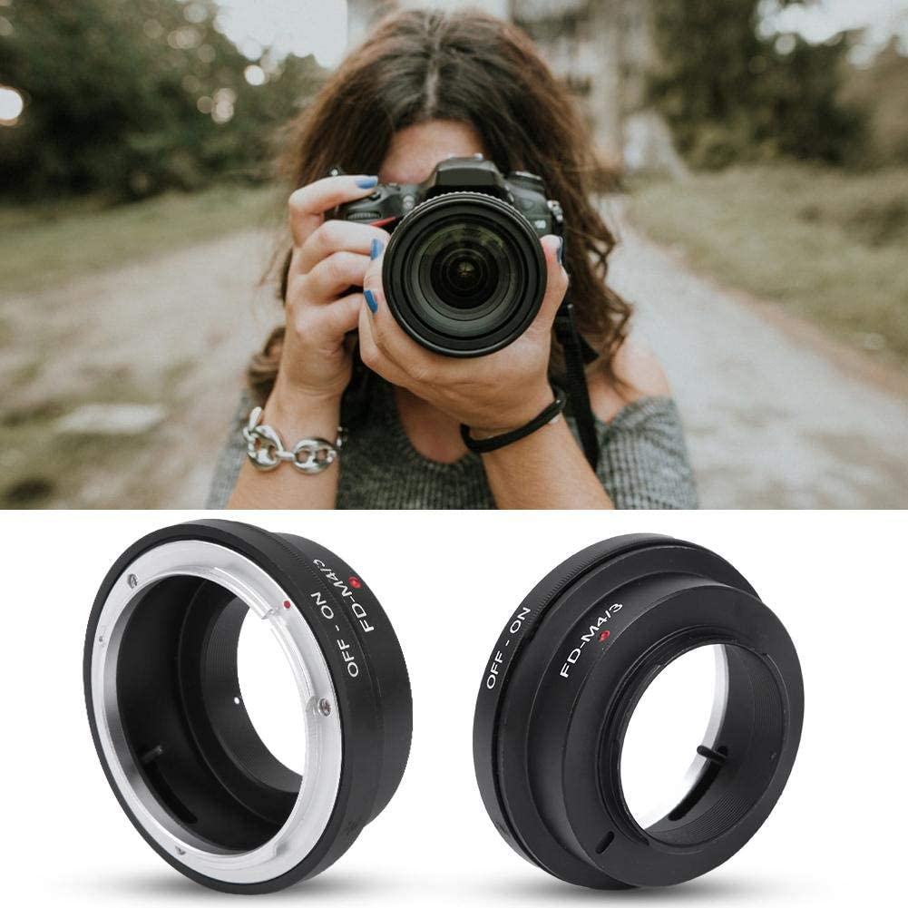 Metal Lens Mount Adapter Ring of Precise Thread for Canon FD Mount Lens for M4//3 Camera FD-M4//3 Camera Adapter Ring