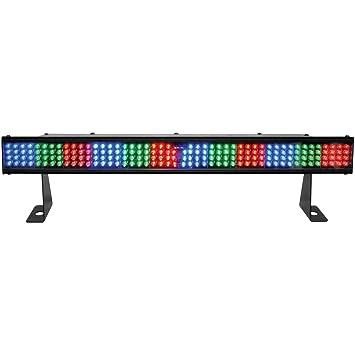 amazon com chauvet dj colorstrip mini fx linear led wash light w