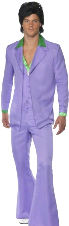 Fragolina dolcecuore loft - 70 anni di carnevale Costume da uomo completo divisa, M-L, Blu