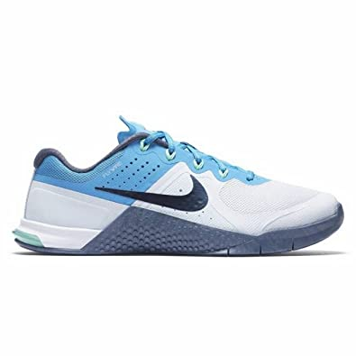 64ff27a51dcbc Image Unavailable. Image not available for. Color  Womens Metcon 2 821913  400 Blue White Size 5.5
